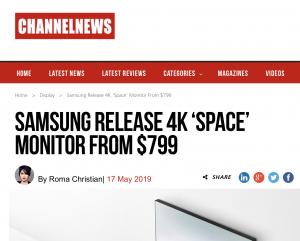 Kantar Australia   Channel News: Samsung release 4K 'Space