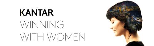 Kantar Winning with Women Banner Link