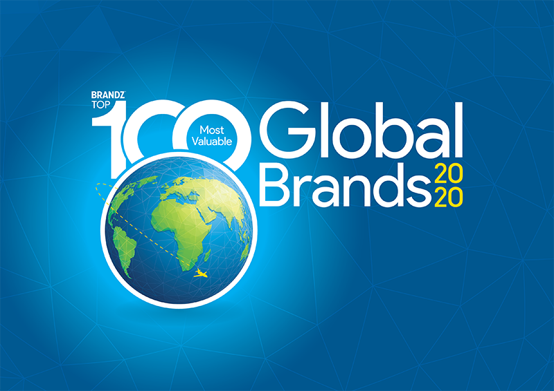 Brandz Top 100 Most Valuable Global Brands 2020