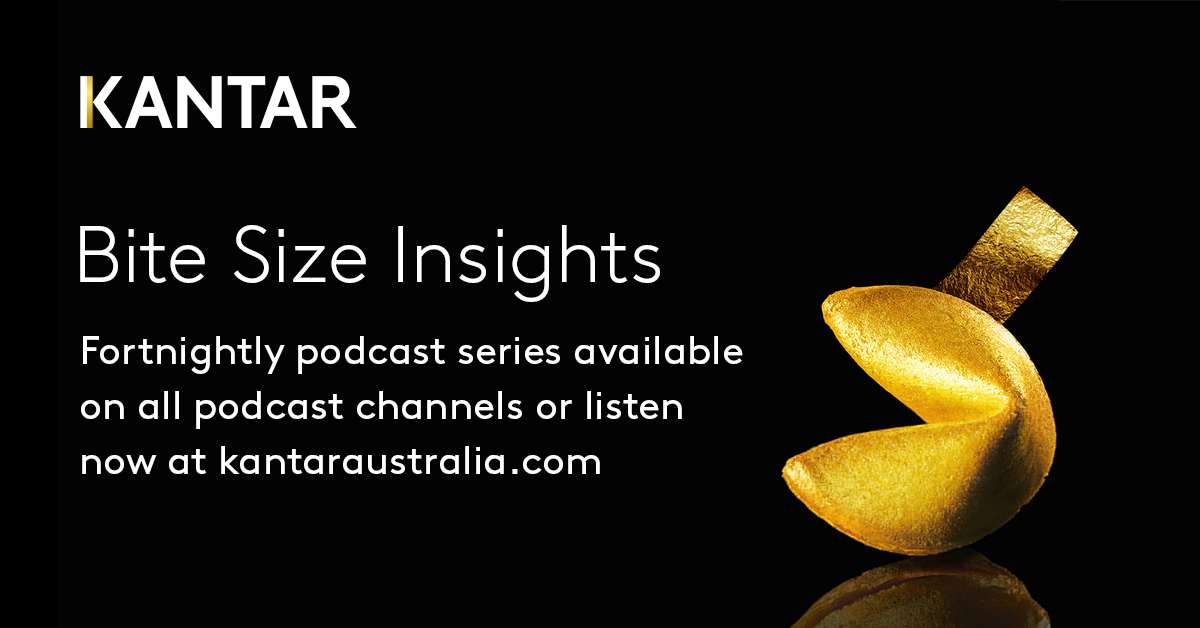 Kantar Australia Bite Size Insights Podcast Banner Link