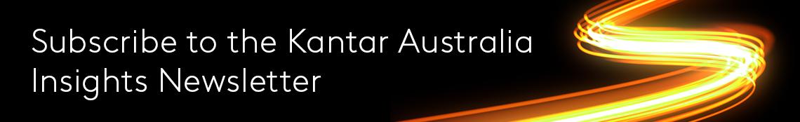 Kantar Australia Insights Newsletter Banner Link