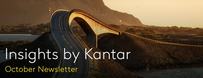 Insights by Kantar October Newsletter Banner